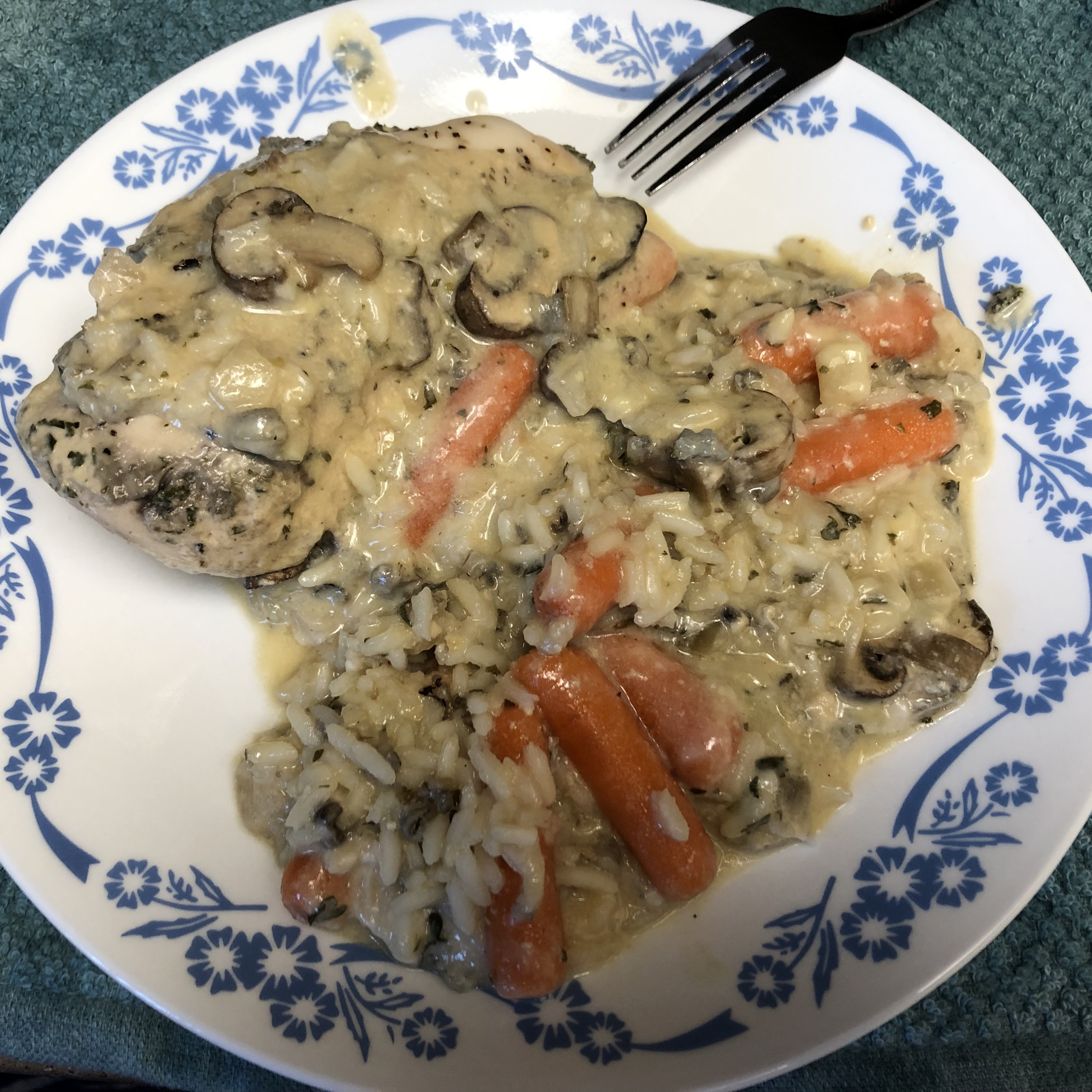 Chicken and Wild Rice Slow Cooker Dinner
