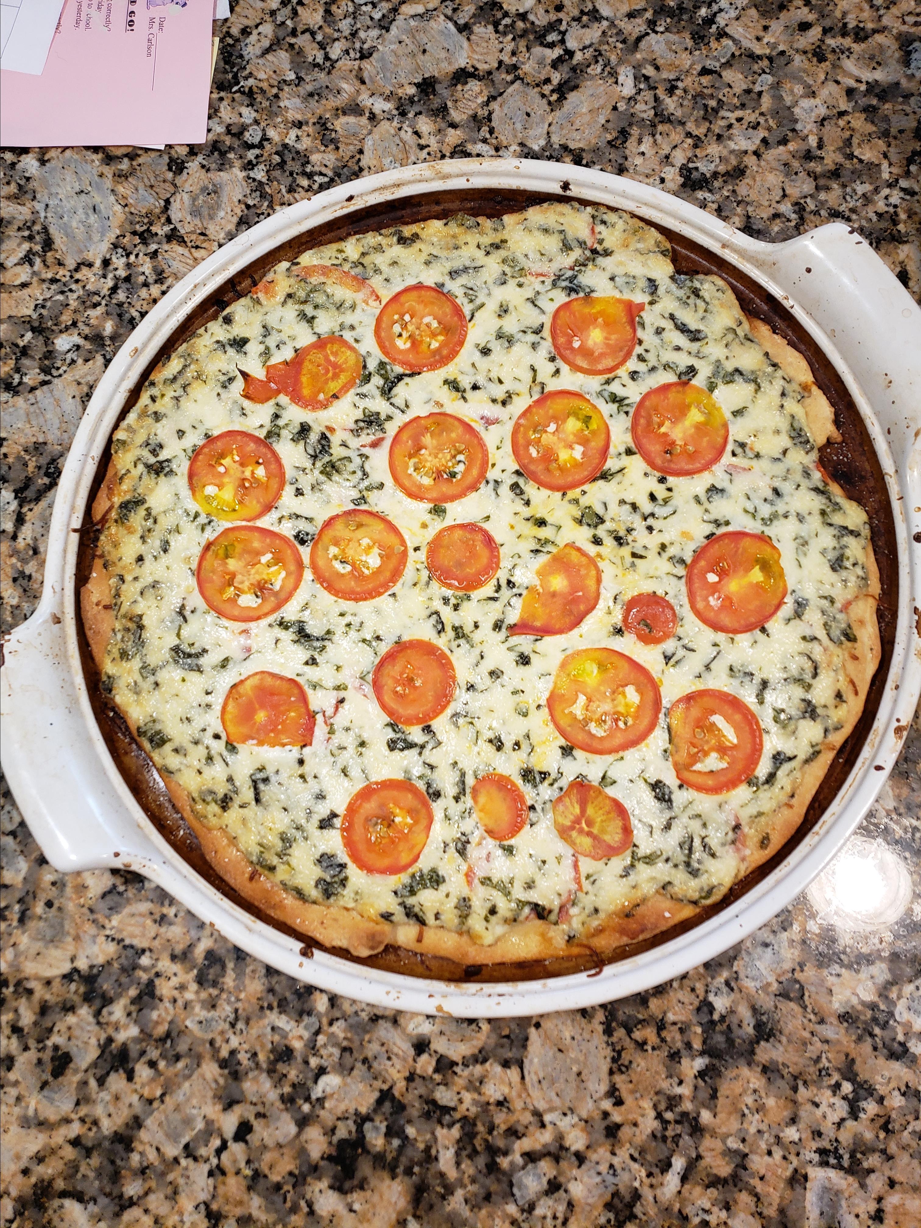 Tomato Basil Squares
