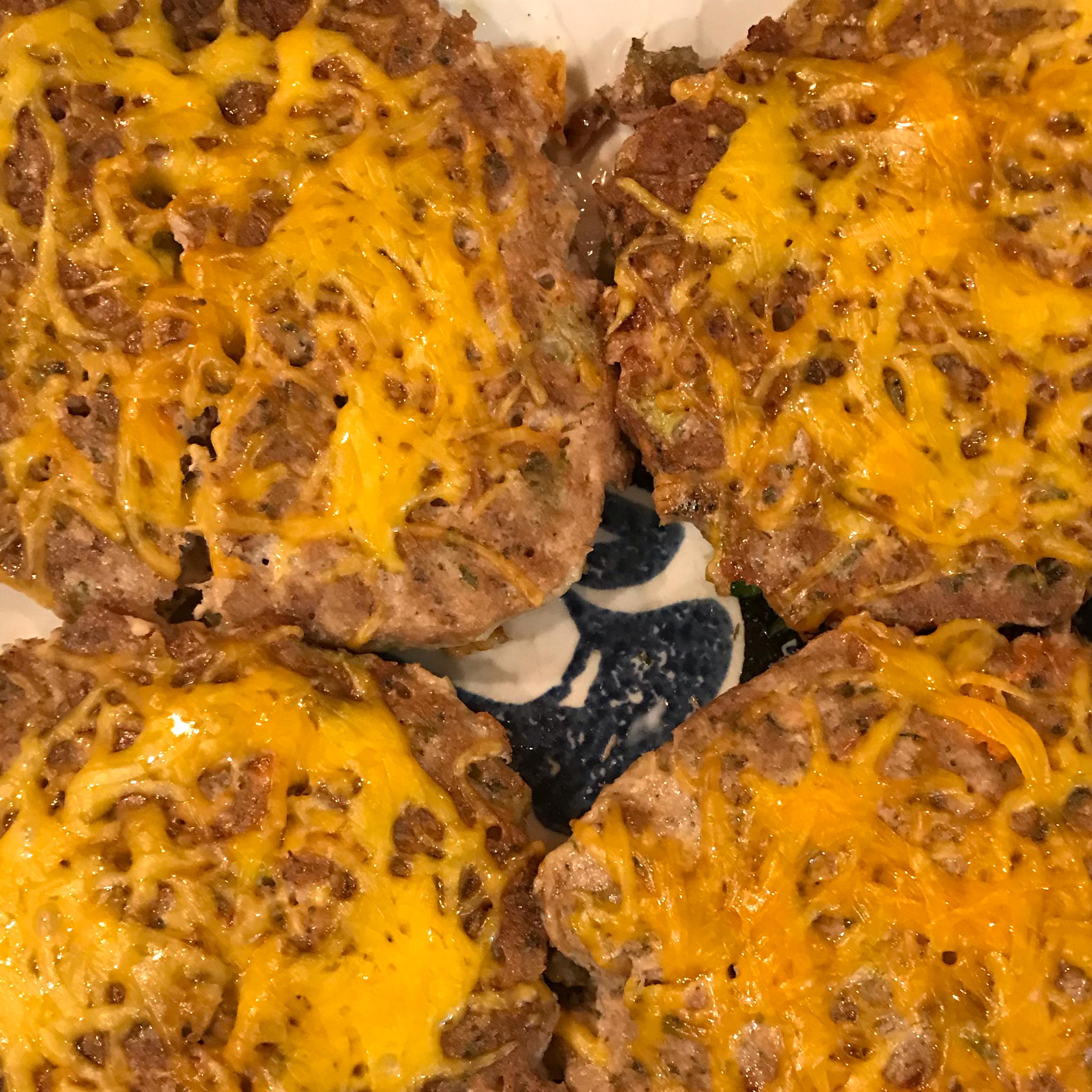 Pan Fried Tuna Patty