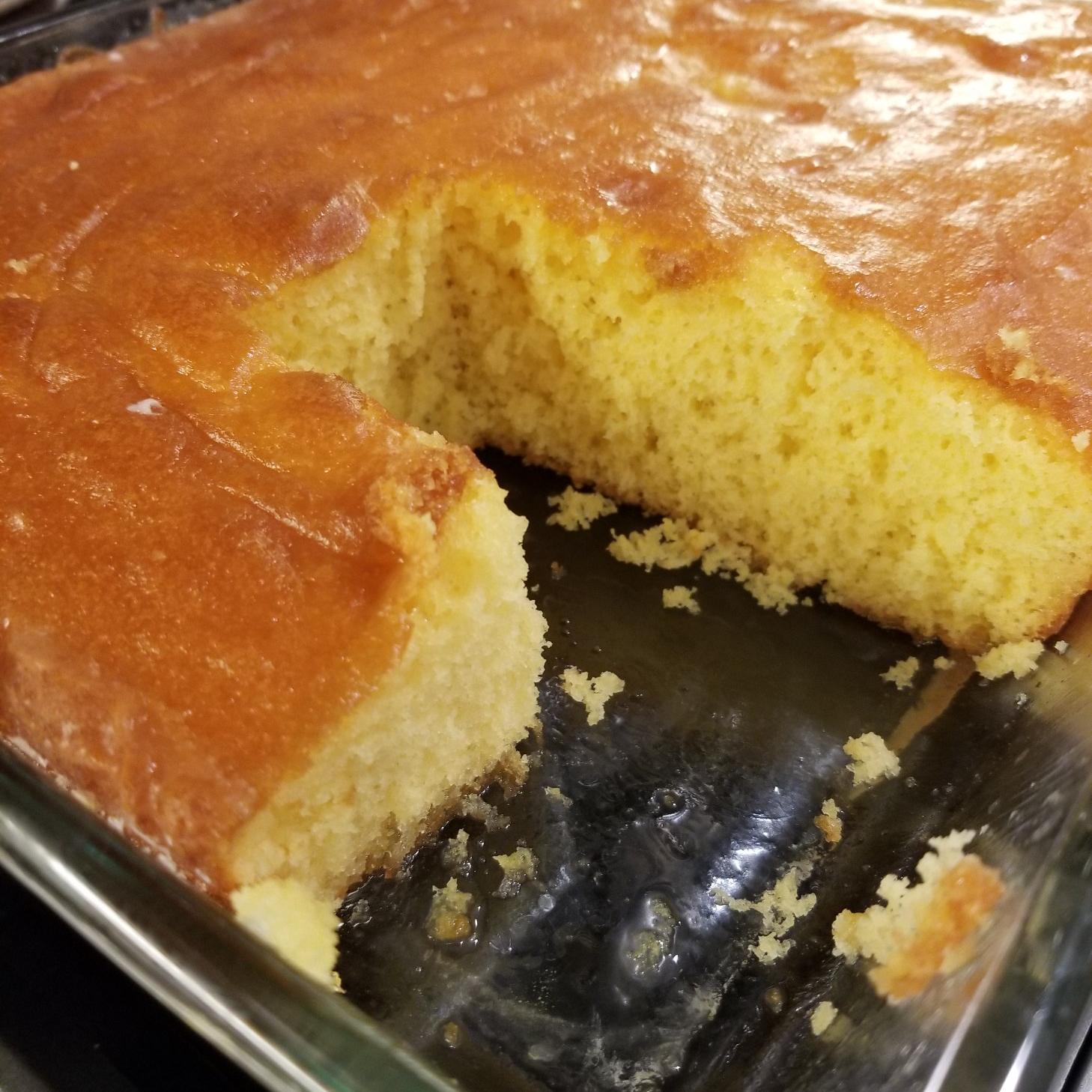Lemon Poke Cake II Monica Lara
