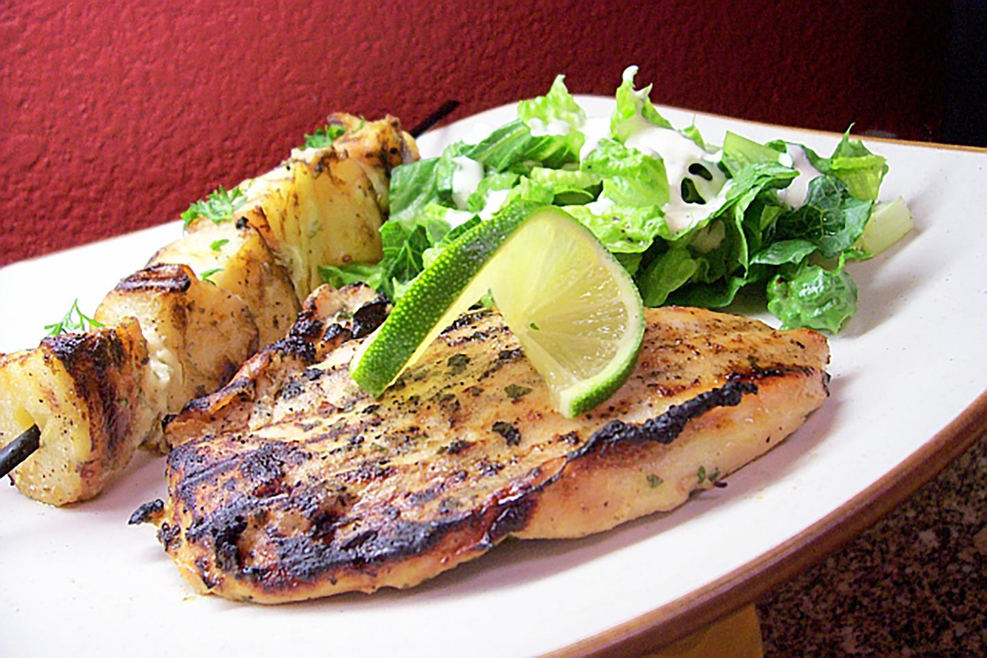 Best Grilled Margarita Chicken... Ever! CHEFBIGB