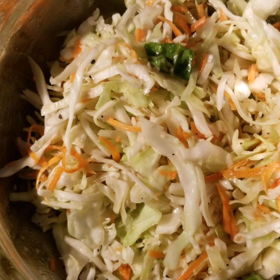 Red Cabbage and Celery Root Coleslaw with Apple Cider Dressing Nancy Eaton