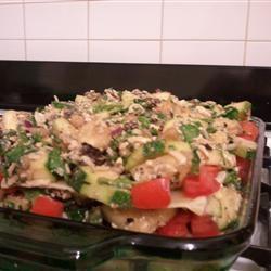 Sauceless Garden Lasagna Kate