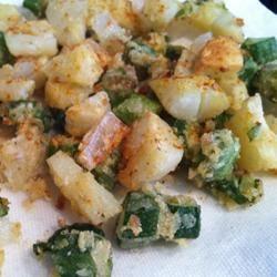 Southern Style Fried Okra