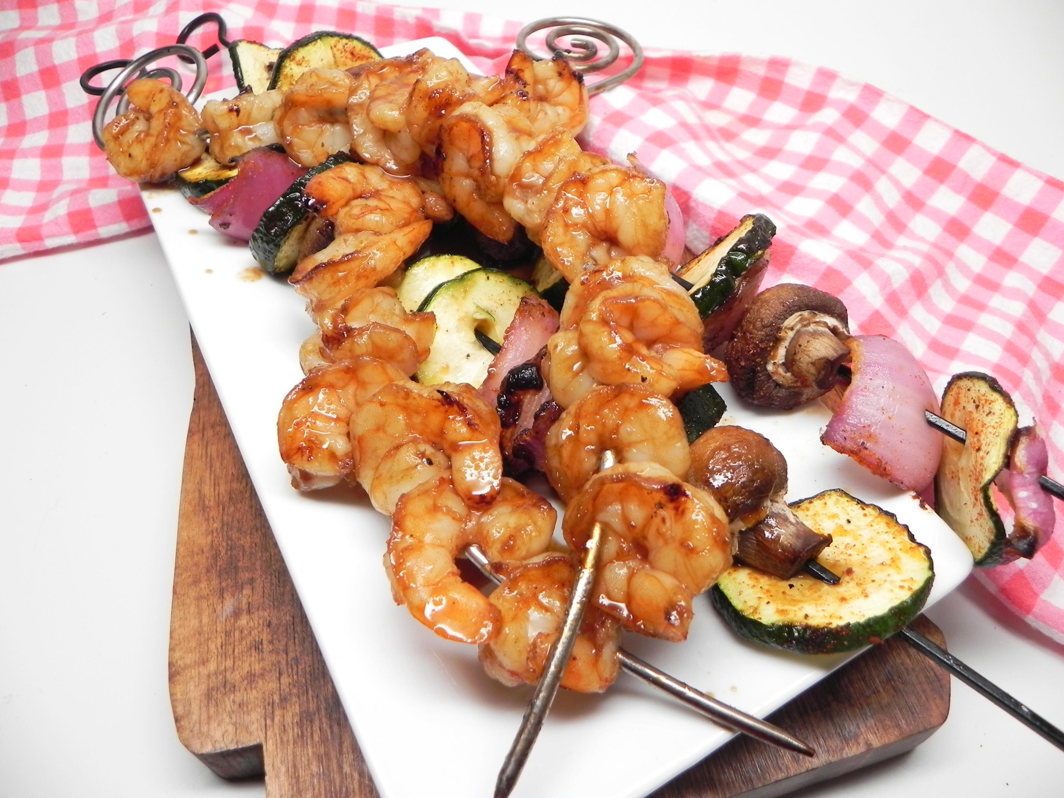 Teriyaki Grilled Shrimp