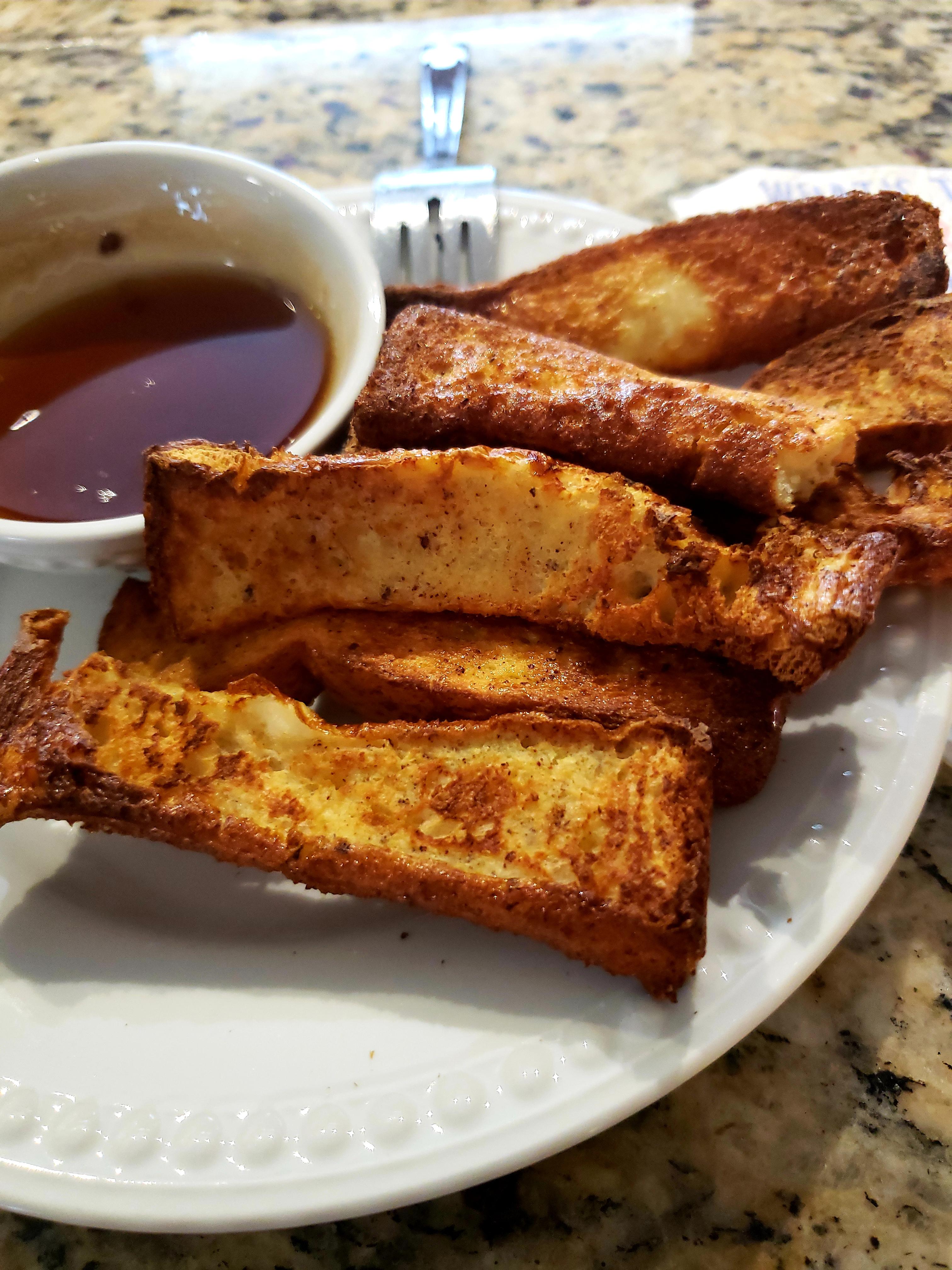 Easy Air Fryer French Toast Sticks Lizette Hernandez
