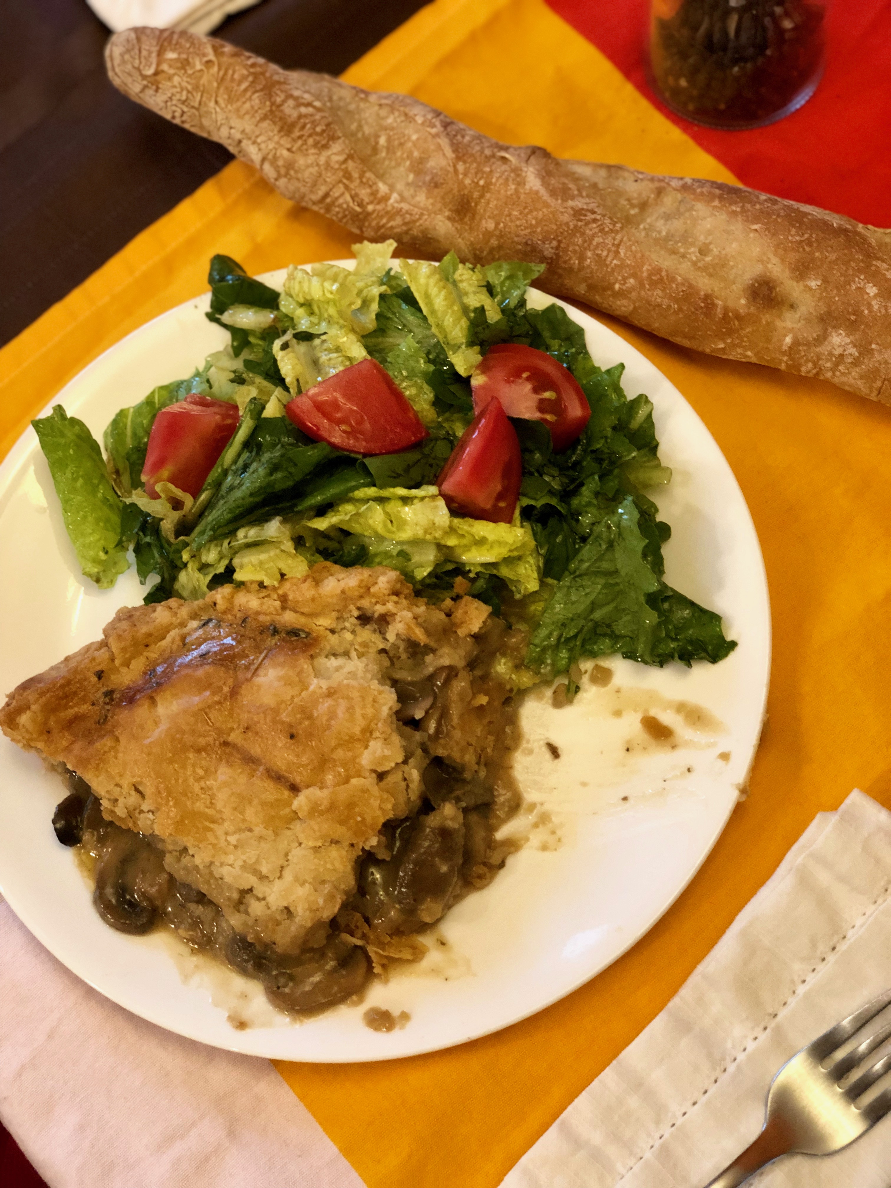 Elegant Mushroom Pie Recipe CharlesS