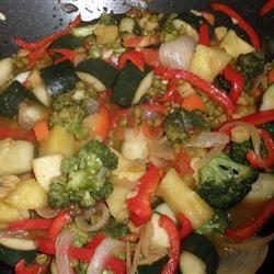 Stir-Fried Sweet and Sour Vegetables andrea92fl