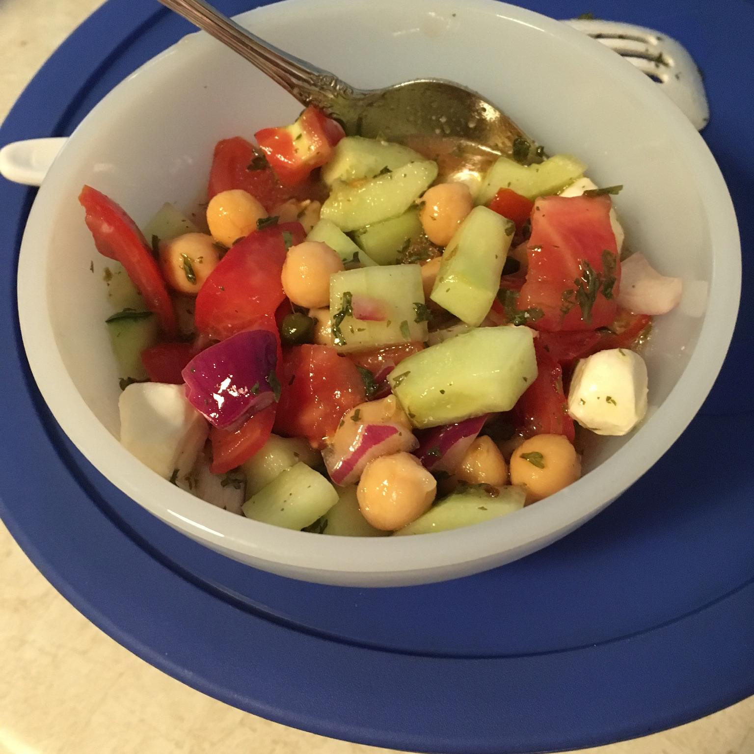 Mediterranean Chickpea Salad Goya