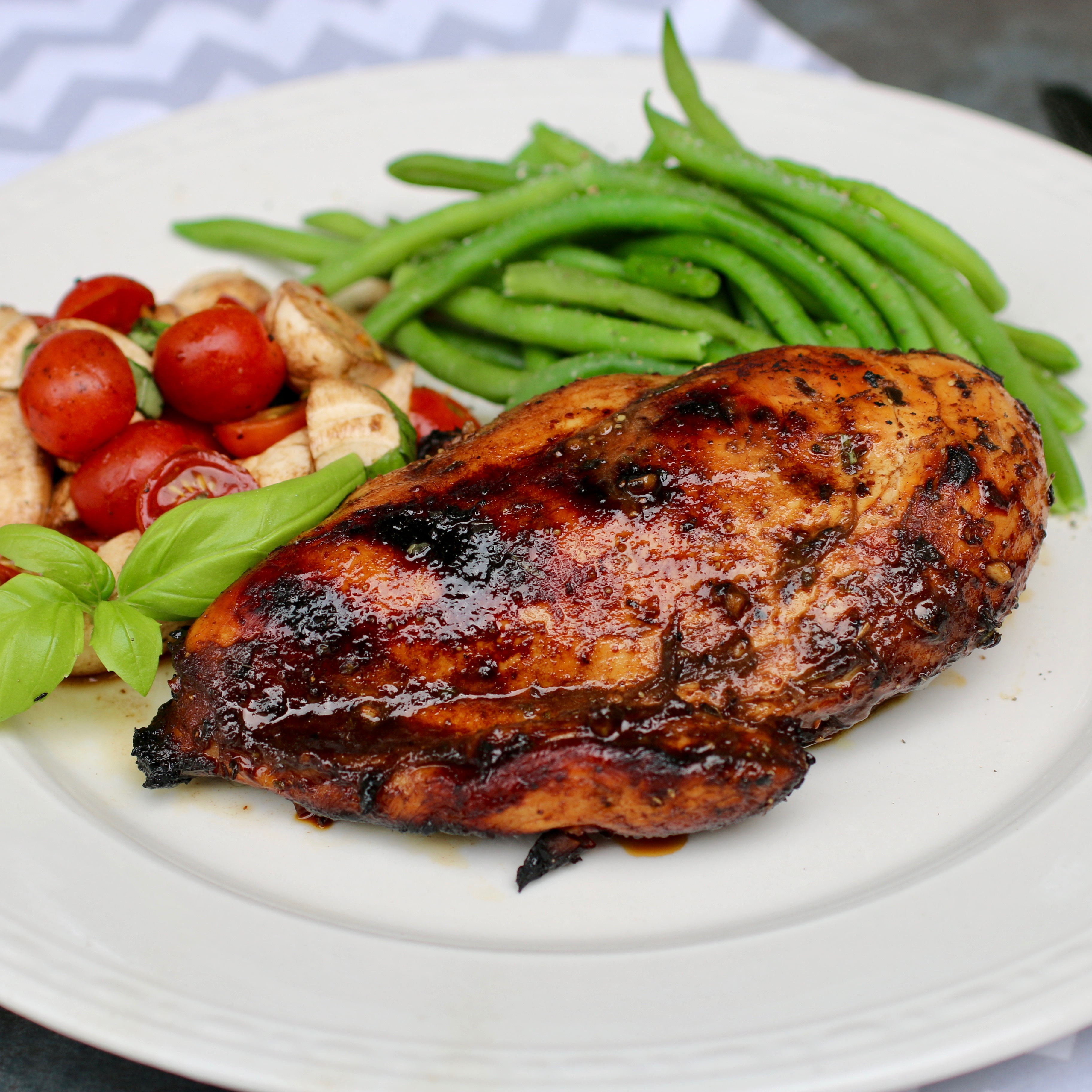 Grilled Balsamic Chicken Breast
