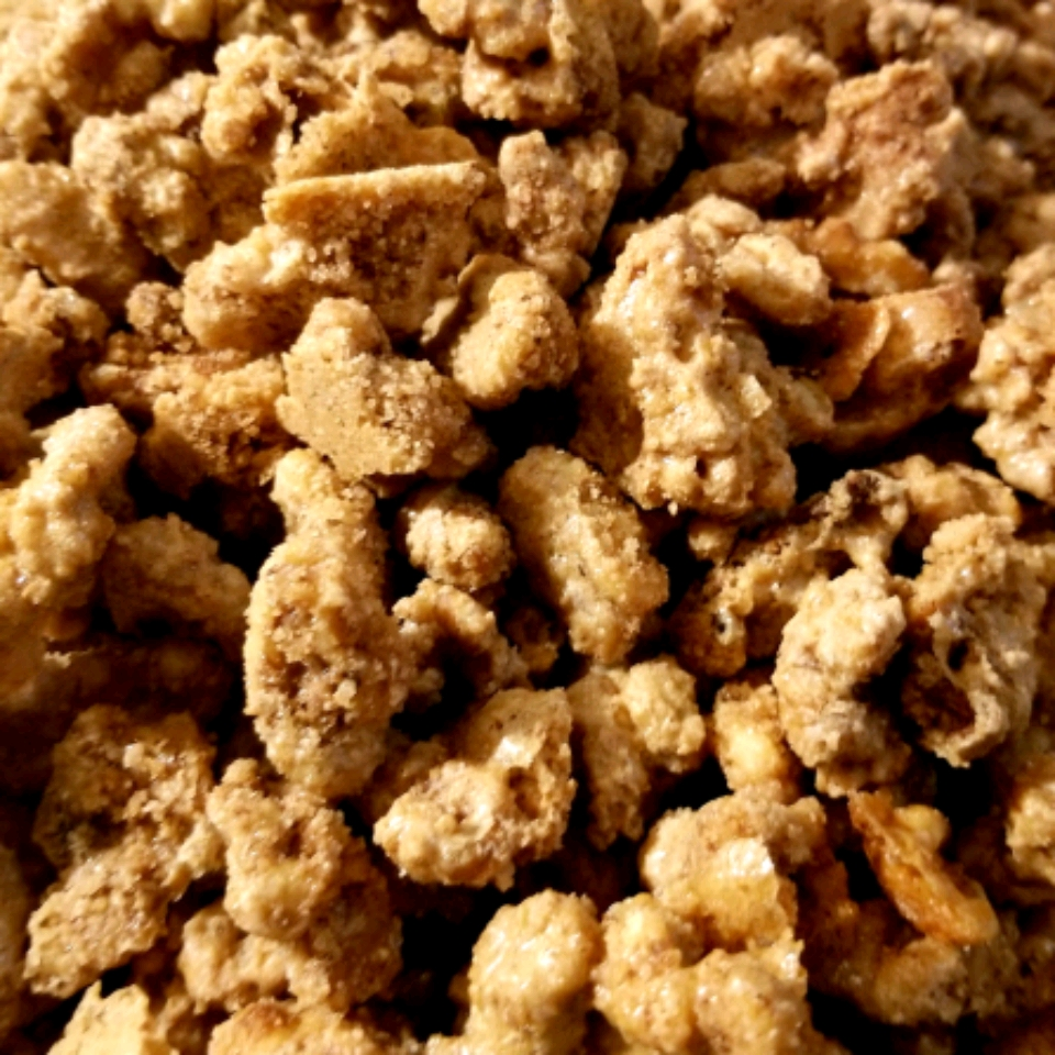 Crusted Cinnamon Walnuts