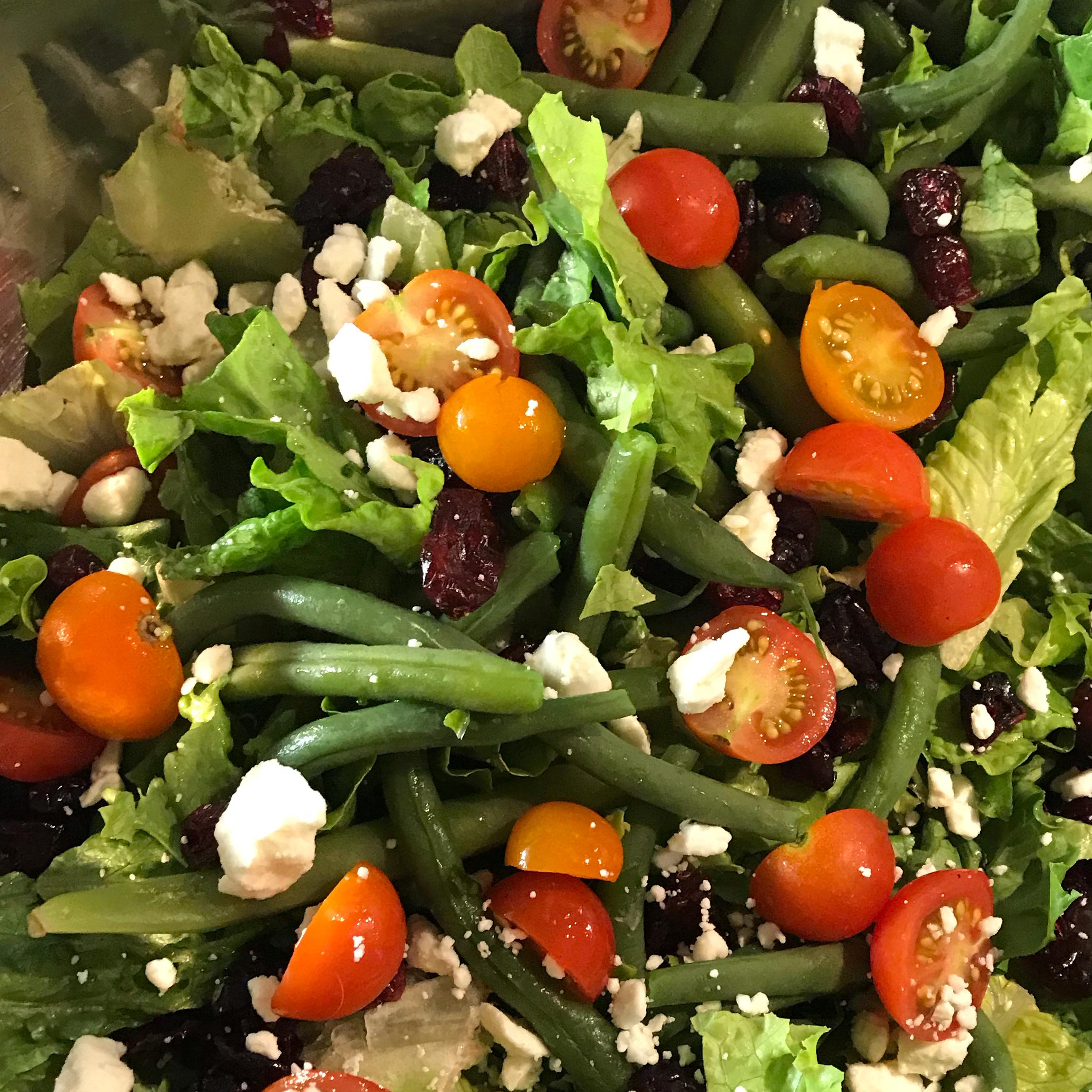 Green Bean Salad with Feta Kristen Collett