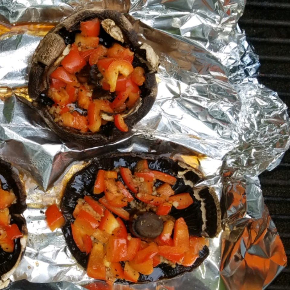 Grilled Stuffed Portobello Mushrooms MikePaddles