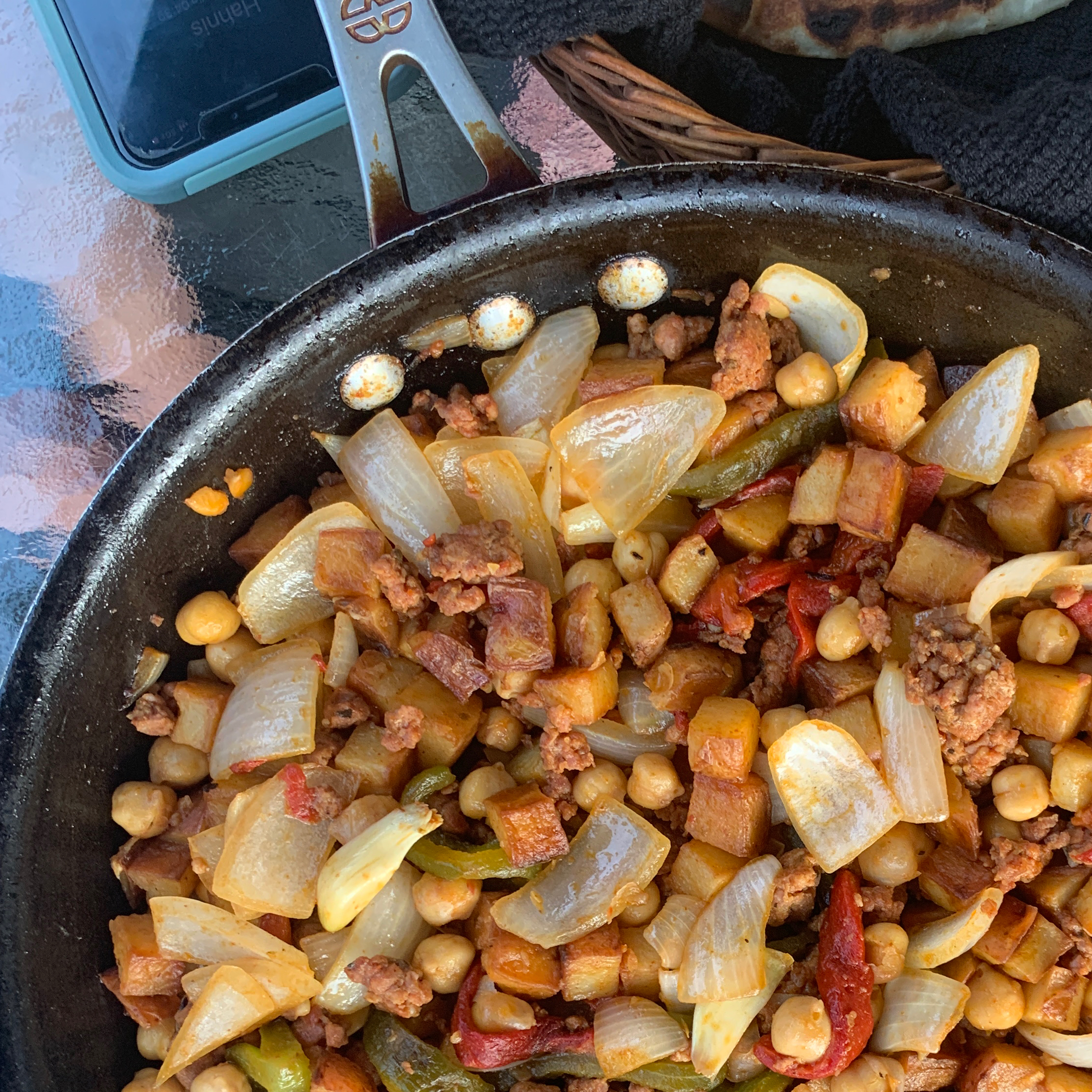 Chickpeas and Chorizo myk
