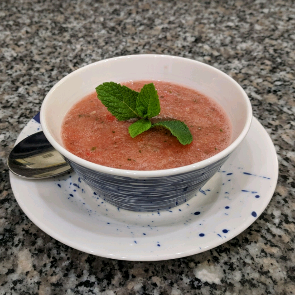 Julia's Watermelon Gazpacho Ken Weeks