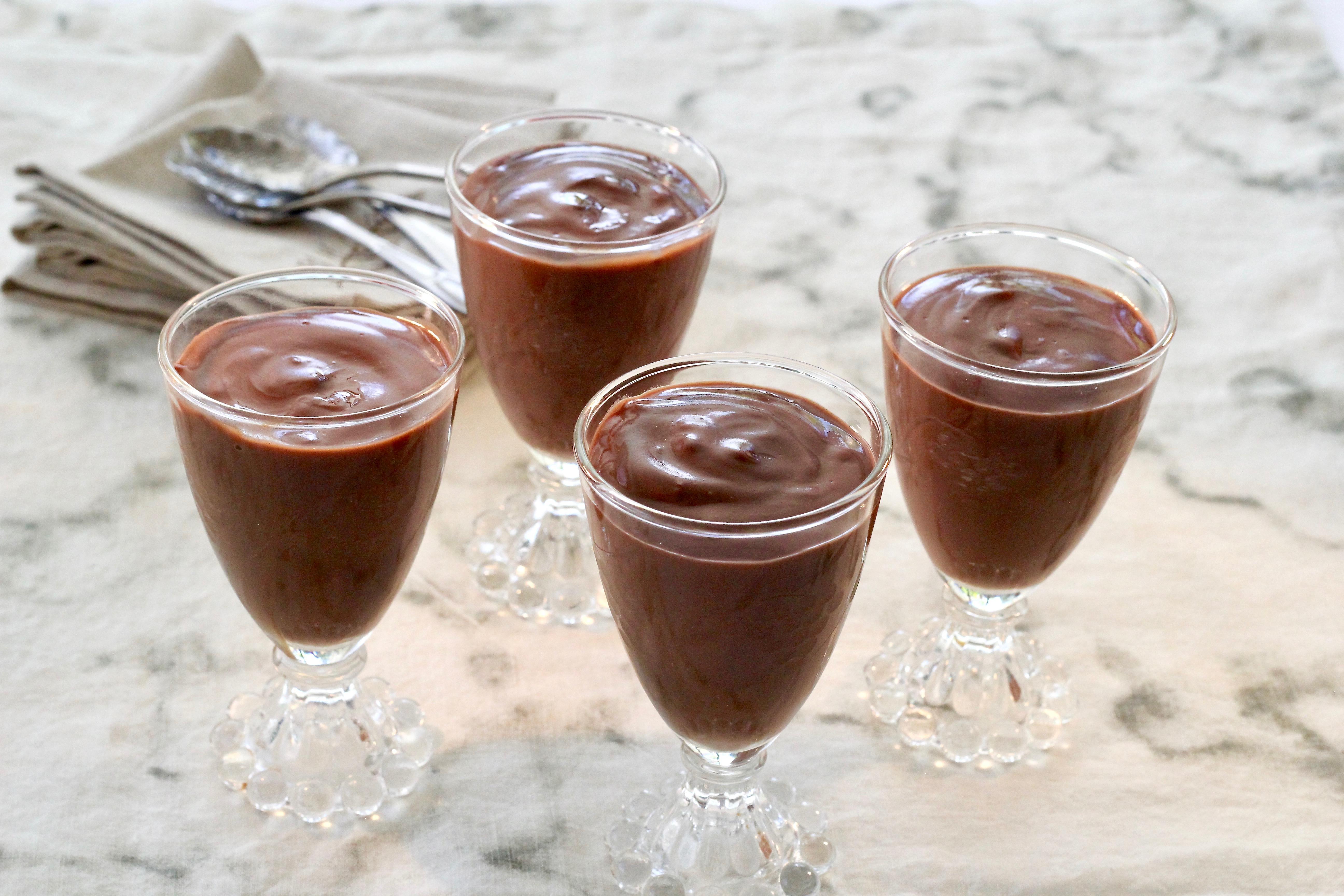 Nana's Homemade Chocolate Pudding