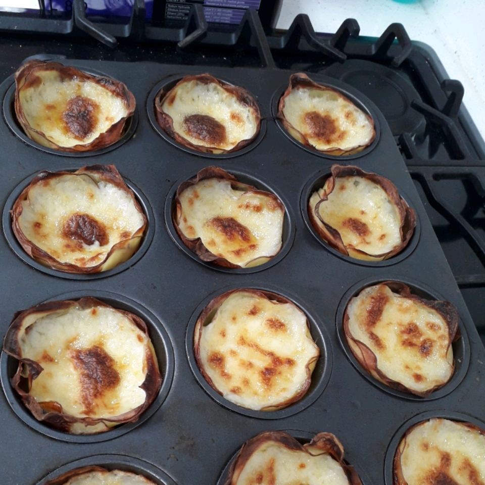 Muffin Tin Potatoes Gratin Gilly the ink