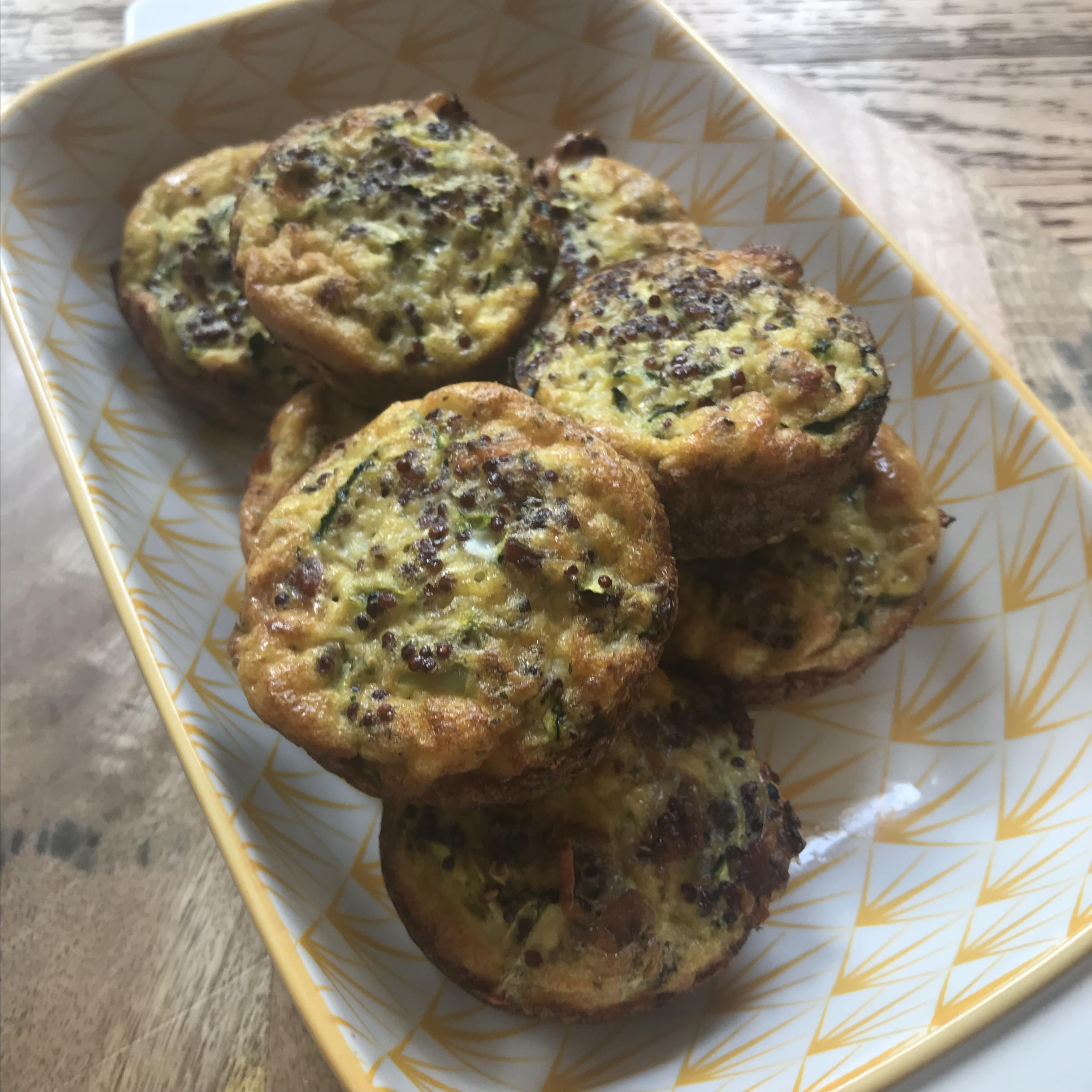 Egg Quinoa Breakfast Muffins Laura Shansey