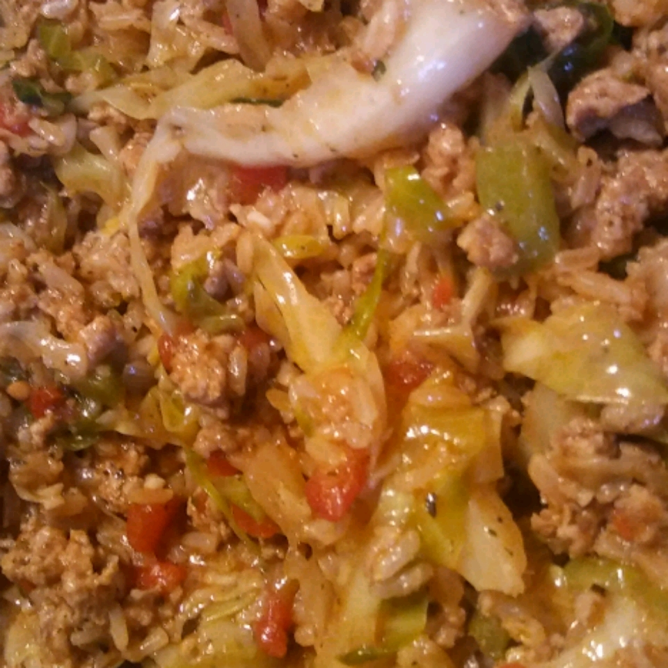 Cajun Cabbage with Rice Brandy H.