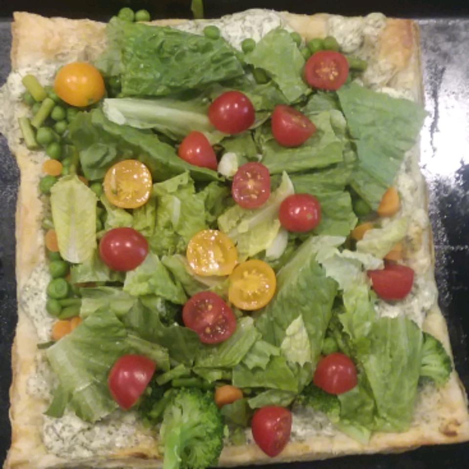 Spring Vegetable Tart Annie Jirovec