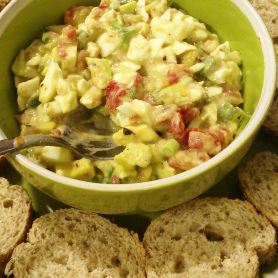 Creamy Avocado Egg Salad Todd Holcombe