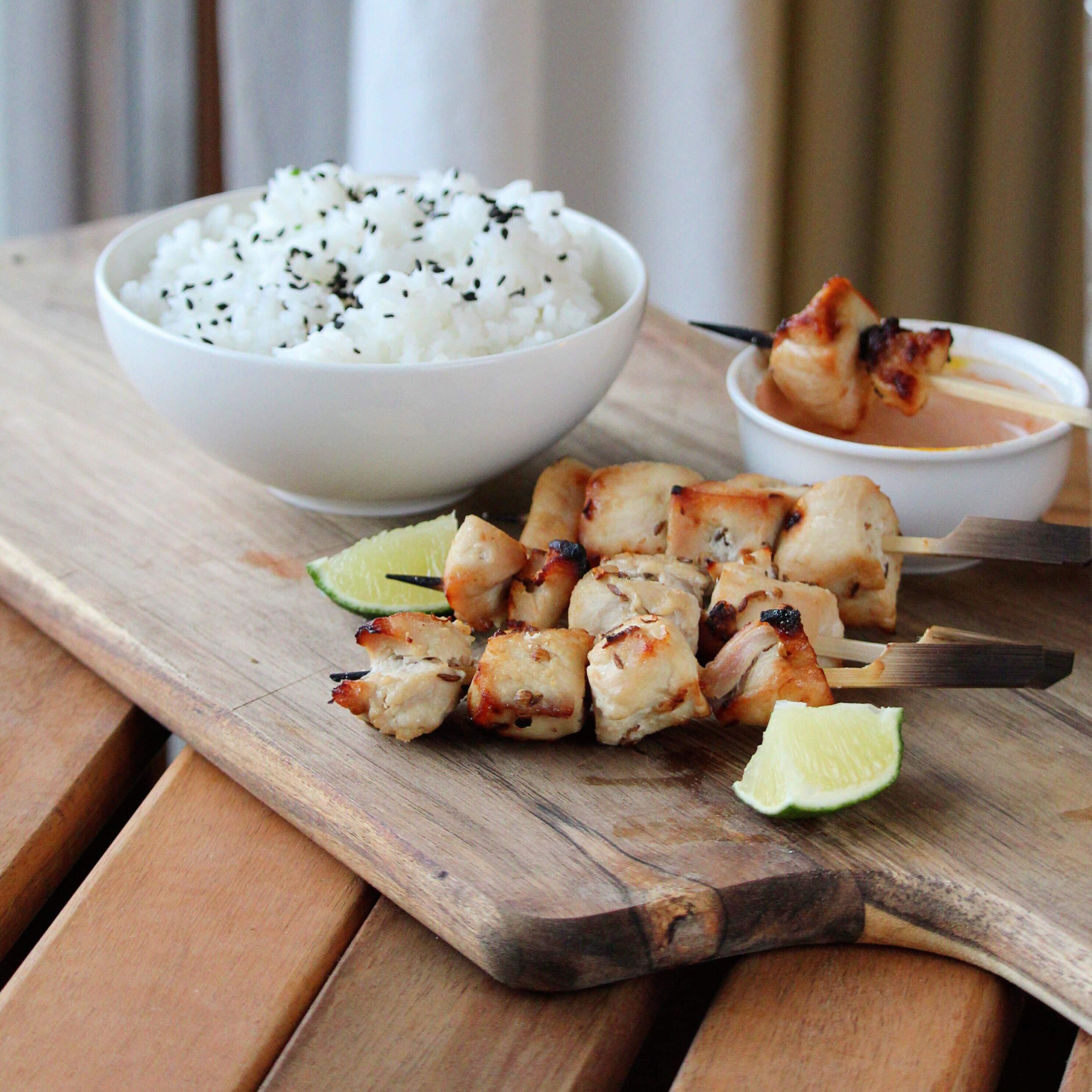 Malaysian Chicken Satay Eddie
