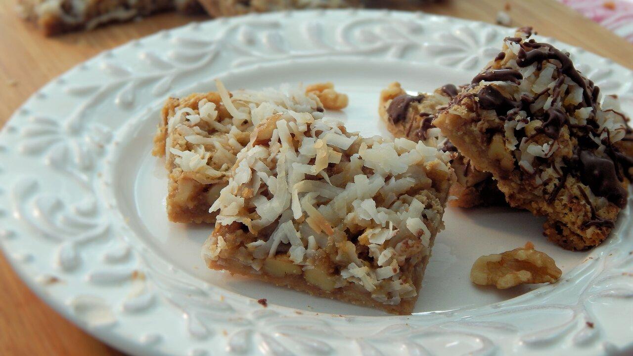 Ollie Bean's Coconut Bar Cookies