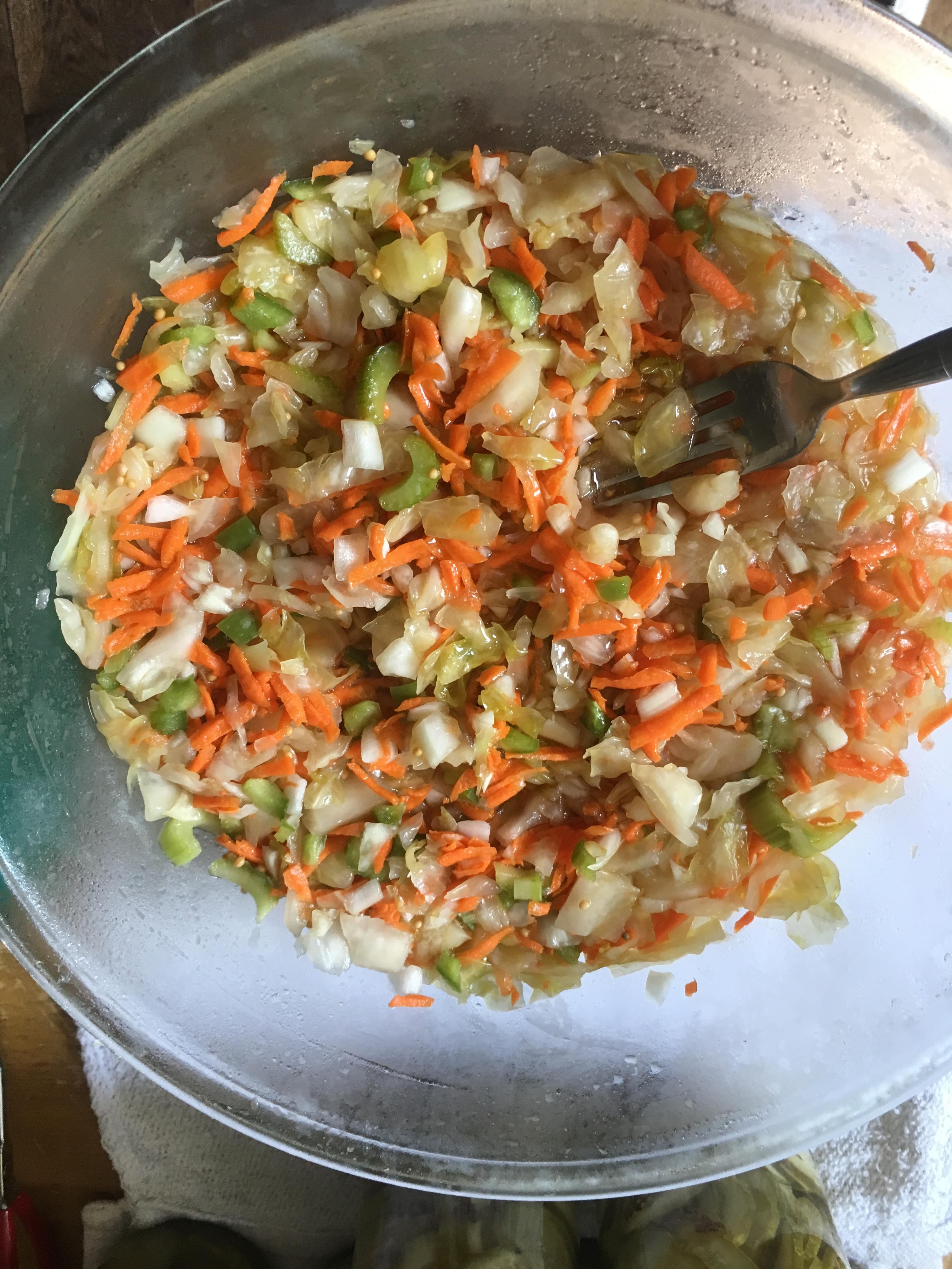 Sauerkraut Salad April Mitchell