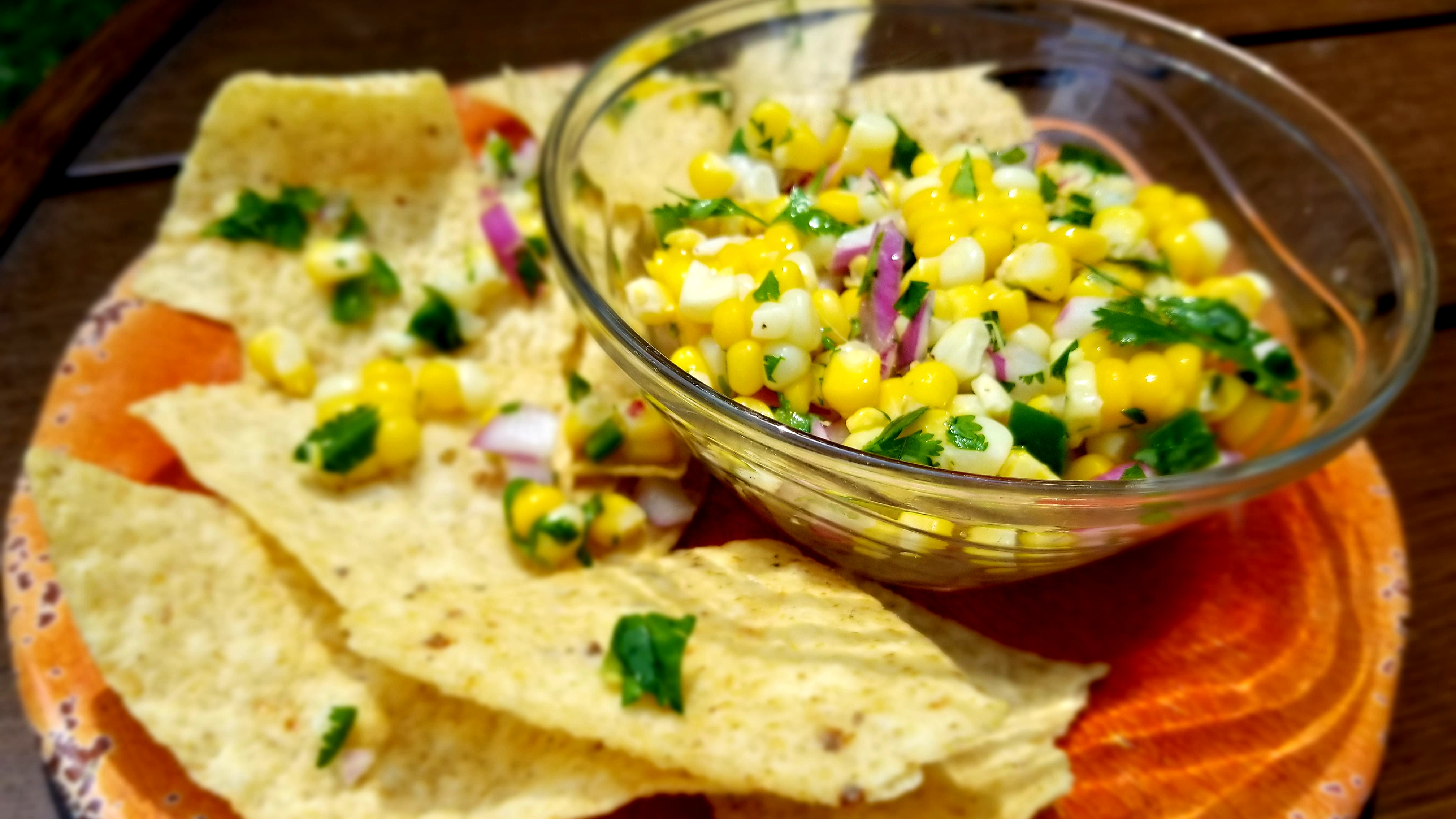 Jewel's Roasted Corn Salsa