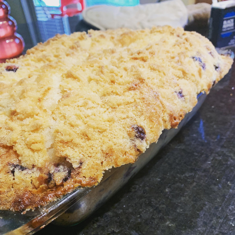 Grandma's Blueberry Buckle CCulver