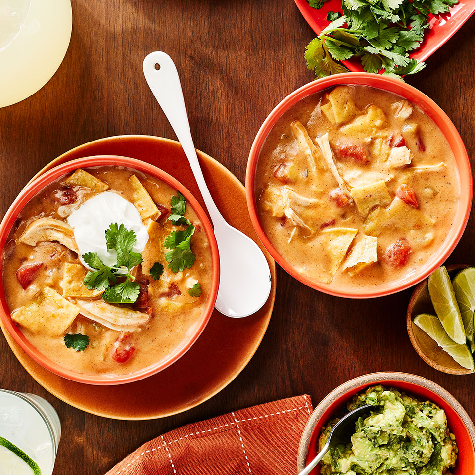Chicken Enchilada Soup Annie Peterson