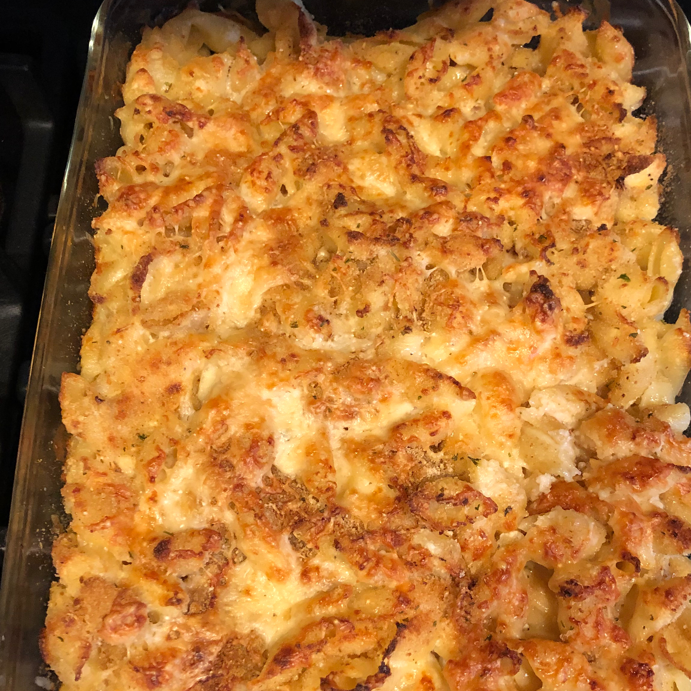 Healthier Four Cheese Macaroni