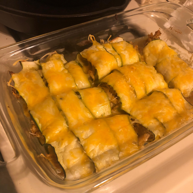 Chicken Zucchini Enchiladas OneLove1123