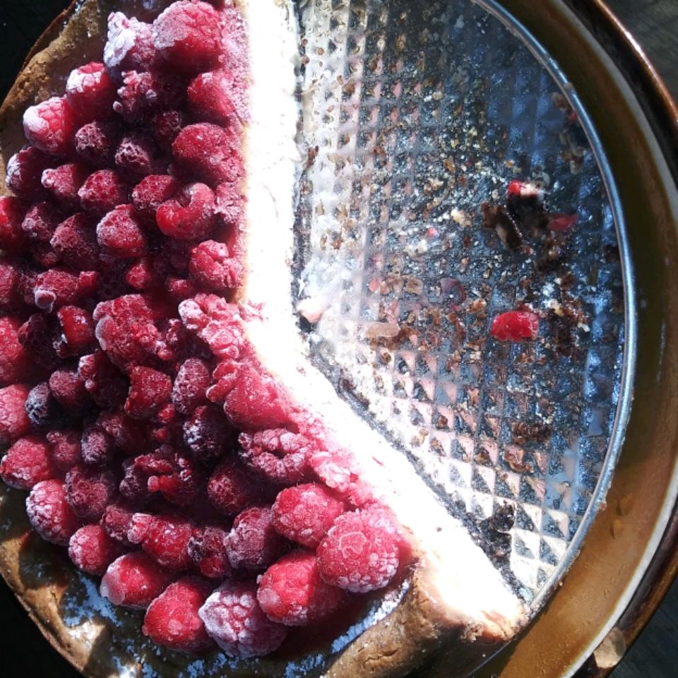 White Chocolate Raspberry Cheesecake vibinonfood
