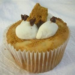 Sunshine S'more Cupcakes