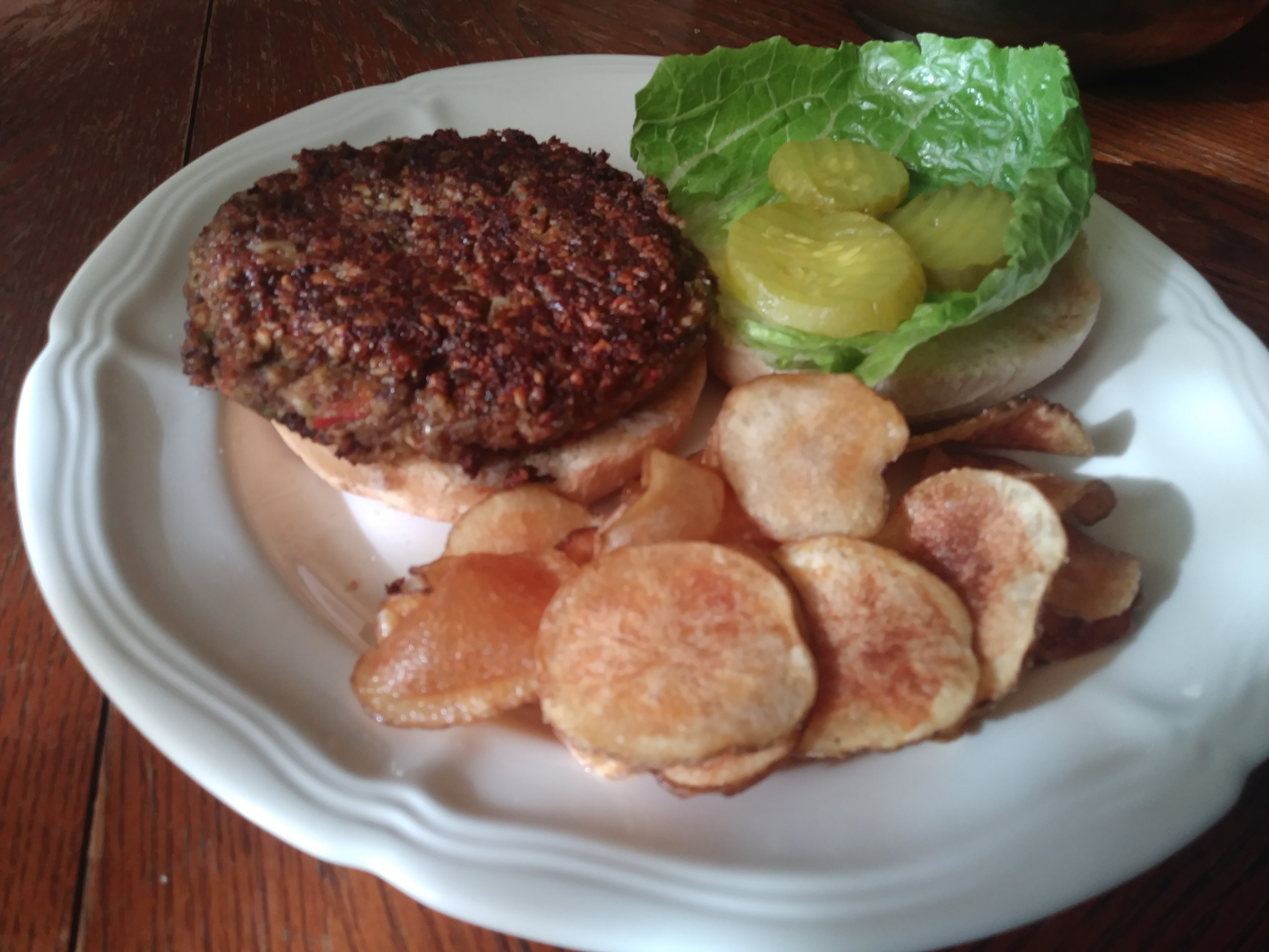 Vegan Black Bean Burgers with Oats