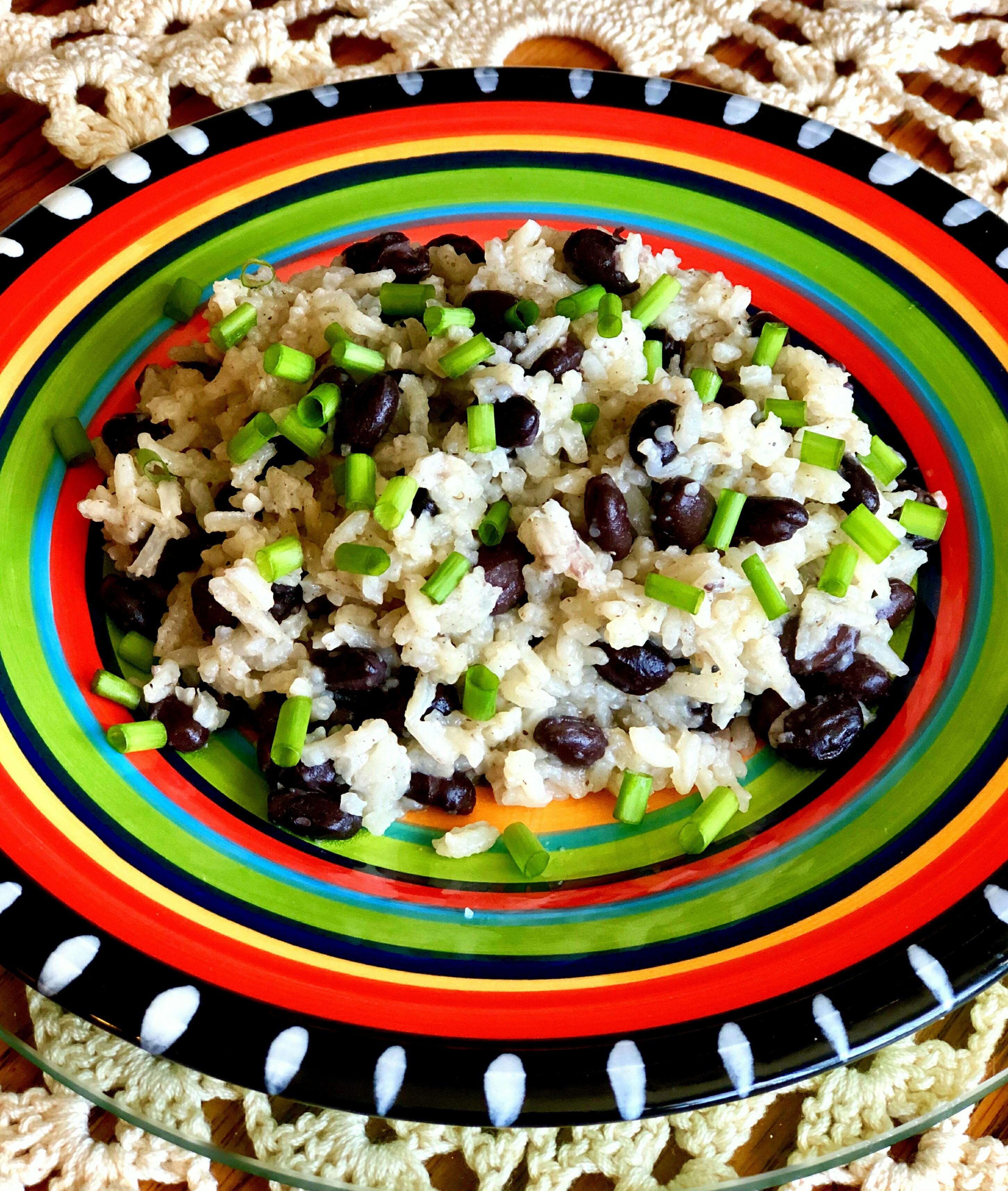 Cumin Black Beans and Rice