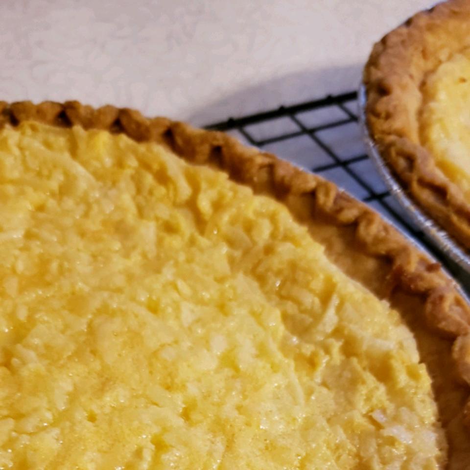 Lauriee's Coconut Custard Pie