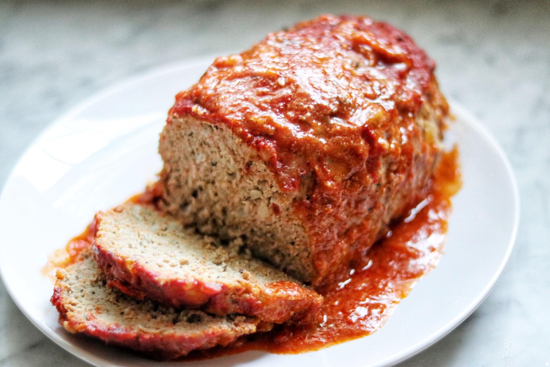 Kid-Friendly Italian Turkey Meatloaf