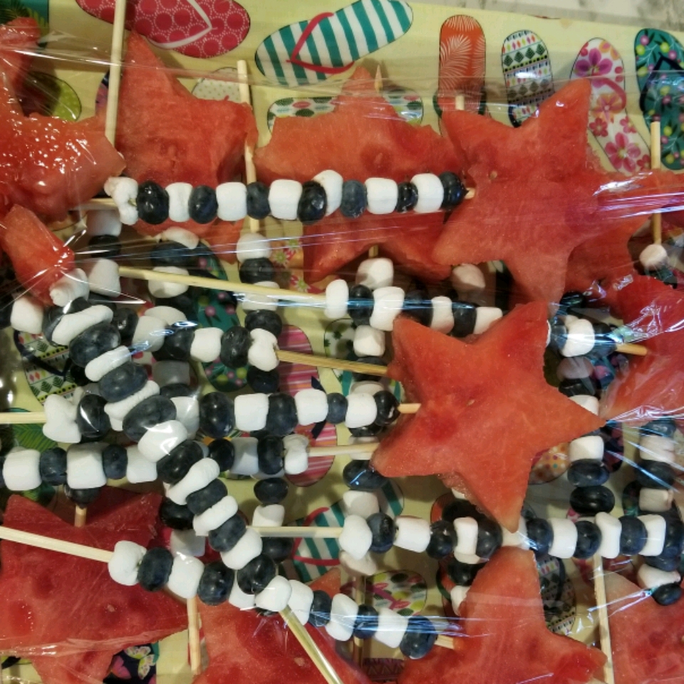 4th of July Fruit Kabobs KEE