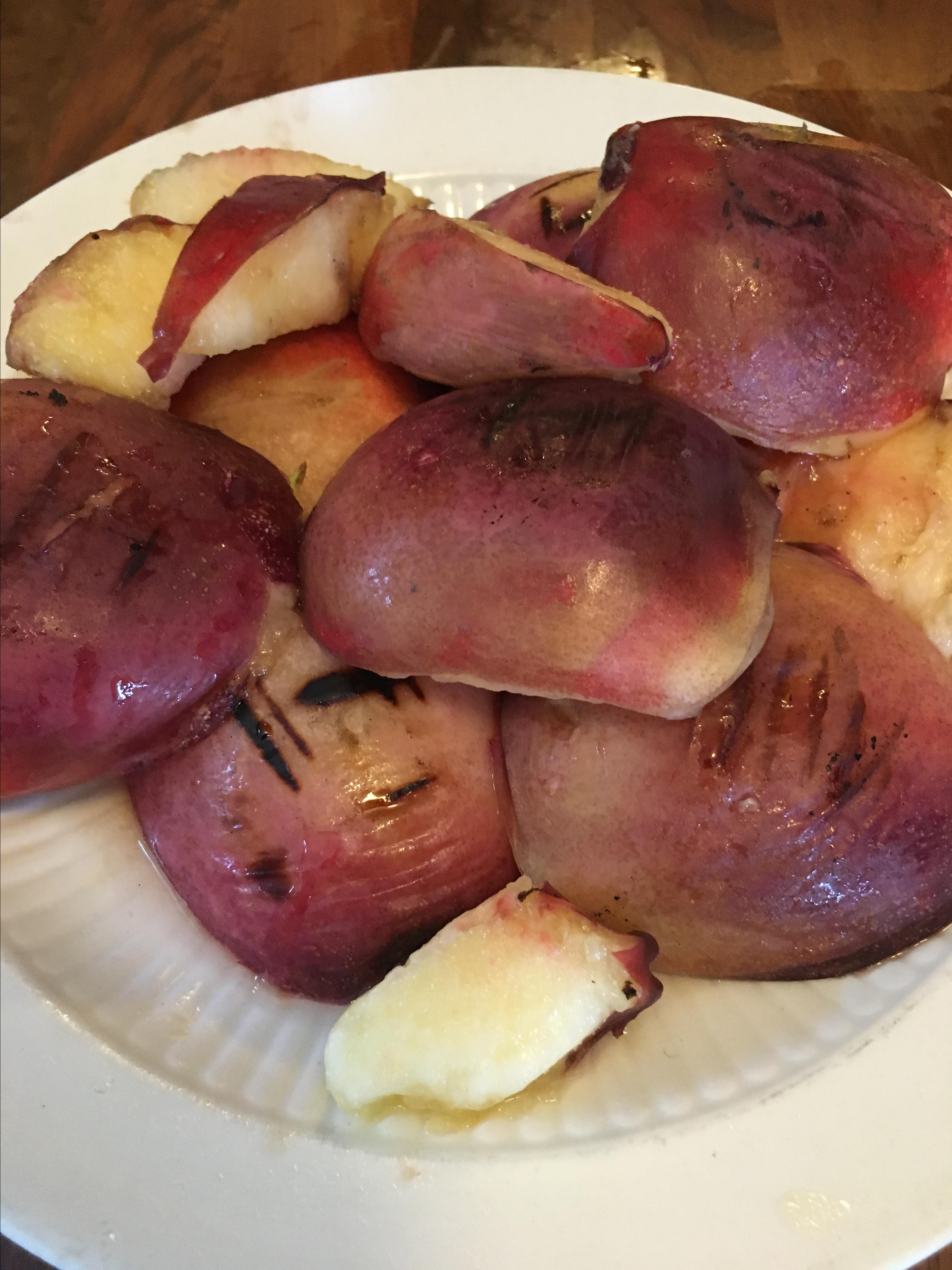 Easy Grilled Nectarines barbara