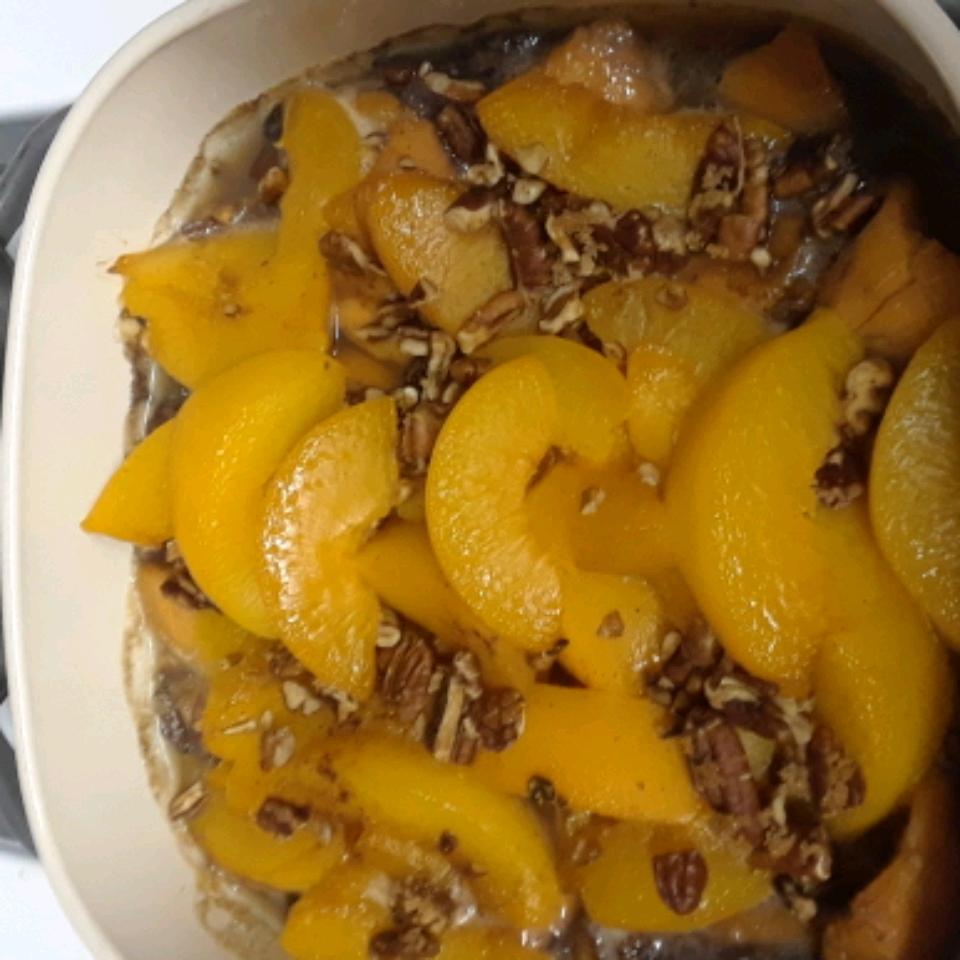 Sweet Potato Peach Bake Judy Authement