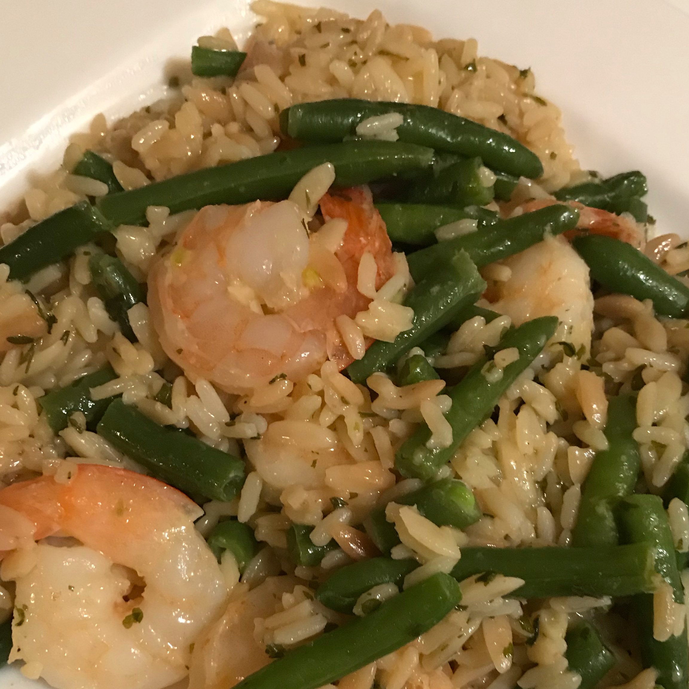 Shrimp Scampi Over Rice from Knorr® Kaye May