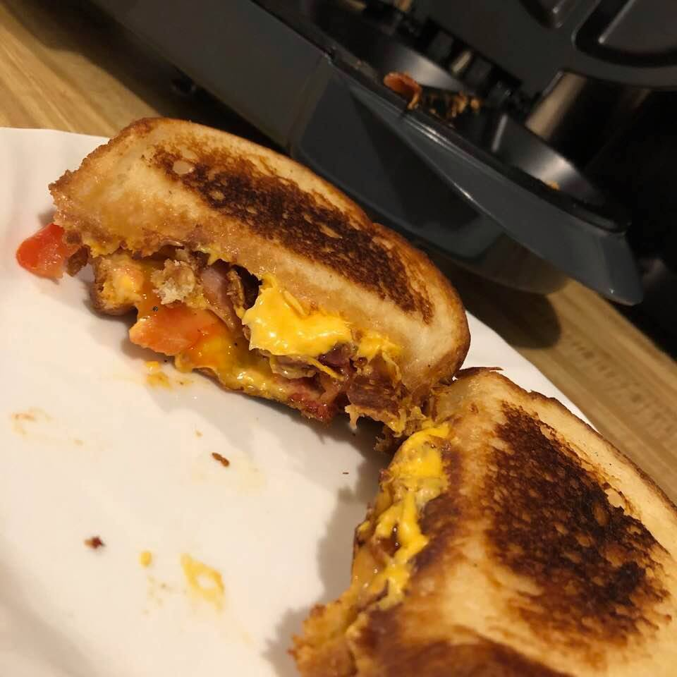 Tomato Bacon Grilled Cheese David Maxey