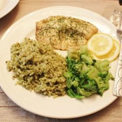 Lemon Garlic Tilapia Steffanie Stamos