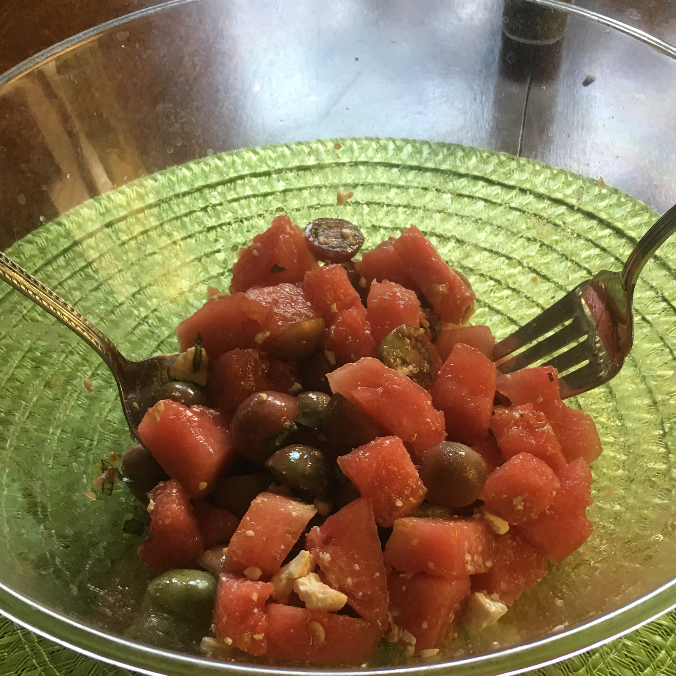 Watermelon and Tomato Salad Ed