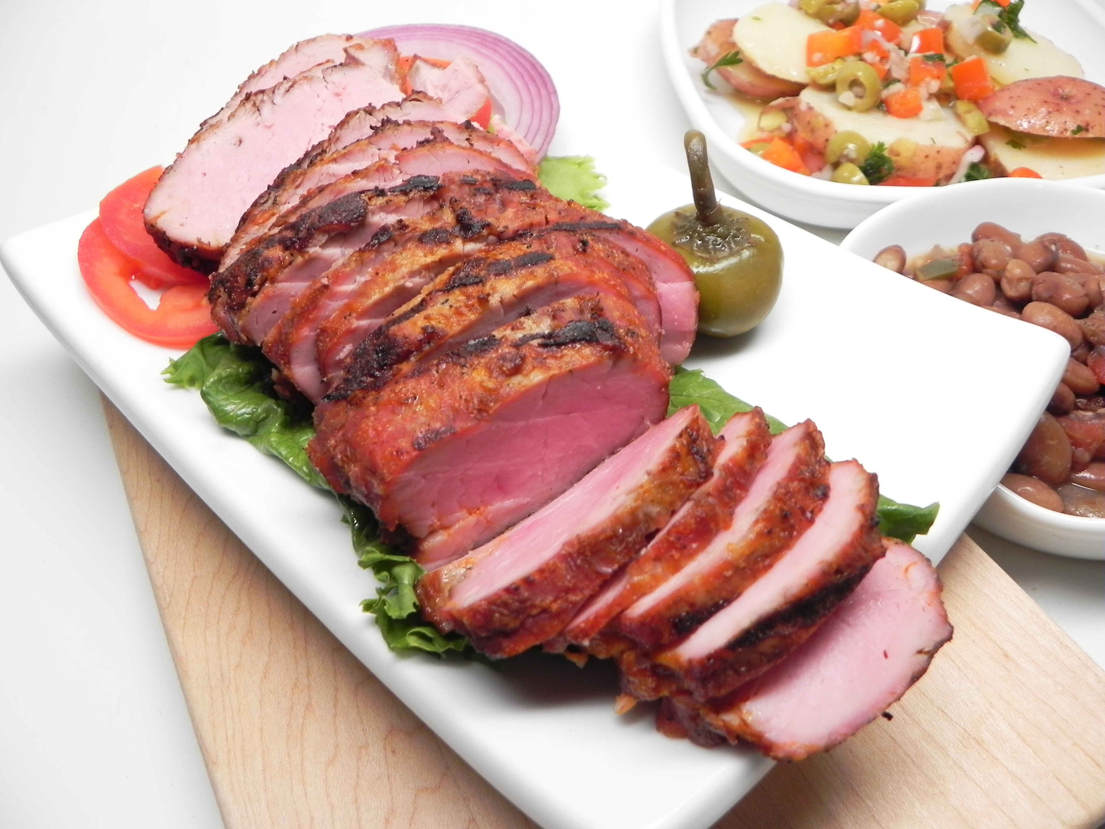 Kid-Friendly Grilled Pork Tenderloin