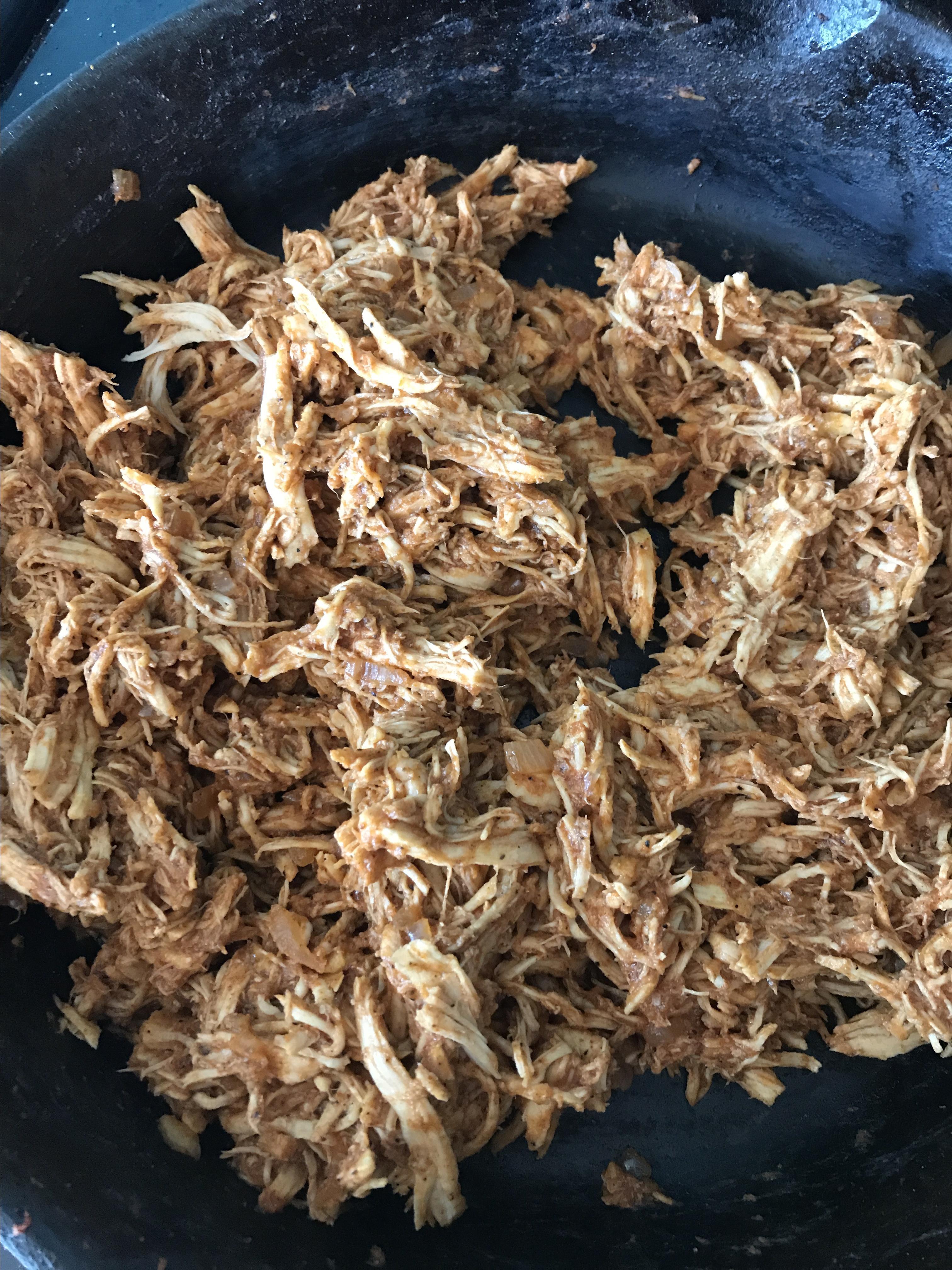 Sarah's Easy Shredded Chicken Taco Filling LilaO