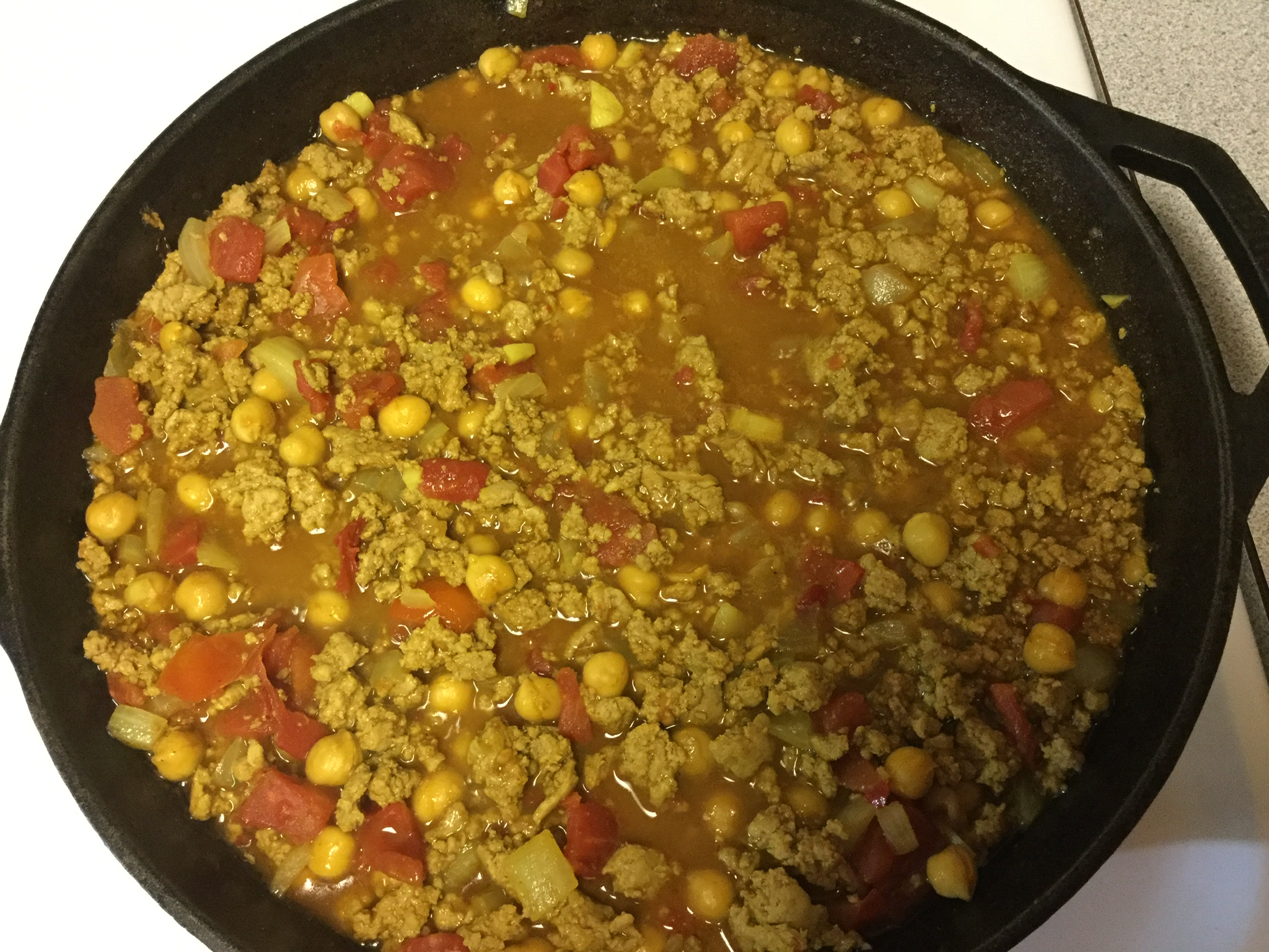 Sweet and Spicy Curry with Chickpeas southern_belle_83