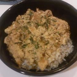 Oyakodon (Japanese Chicken and Egg Rice Bowl)